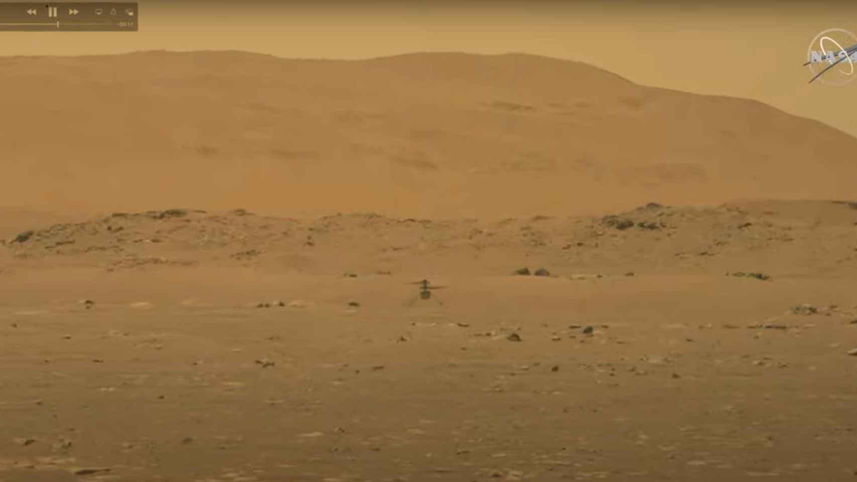 El helicóptero Ingenuity vuela en Marte: la NASA hace historia en otro planeta