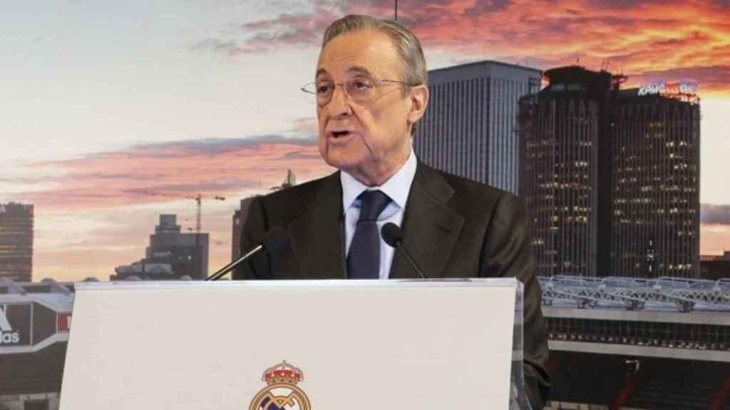 Florentino Pérez, el primer presidente de la Superliga Europea.