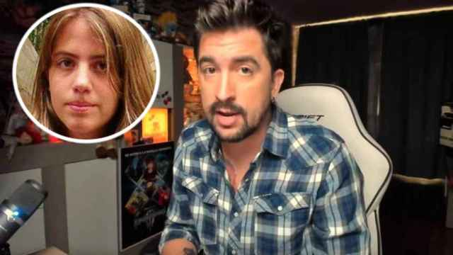 El youtuber Javier Oliveira. Arriba, la desaparecida Marta del Castillo.