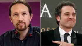 Pablo Iglesias y Daniel Guzmán en un fotomontaje.