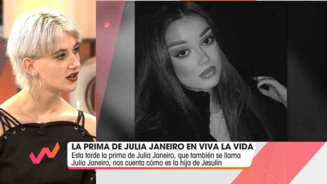 Julia Janeiro en 'Viva la vida'