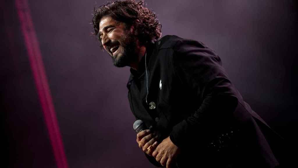 Orozco durante uno de los conciertos en Madrid.