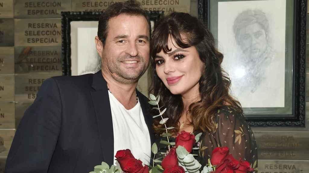 Marisa Jara y Miguel Almansa en octubre del año pasado.