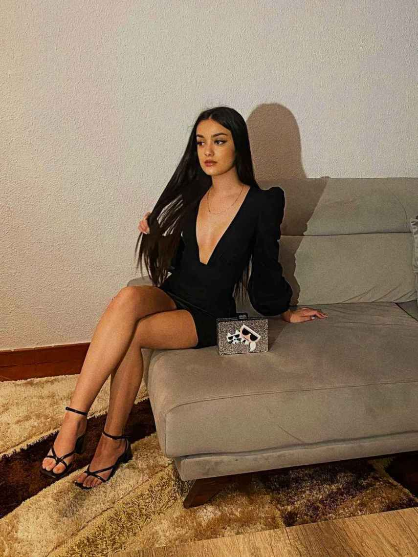 Julia compartió los detalles de su 'look' en su perfil de Instagram.