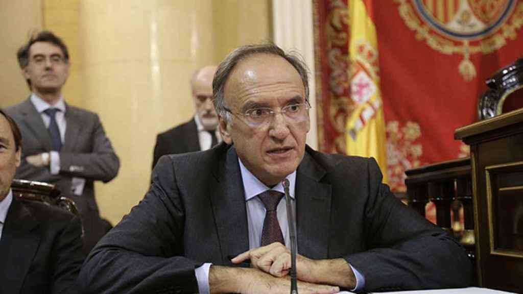 El secretario primero de la Mesa del Senado, el parlamentario socialista Manuel Fajardo. Efe