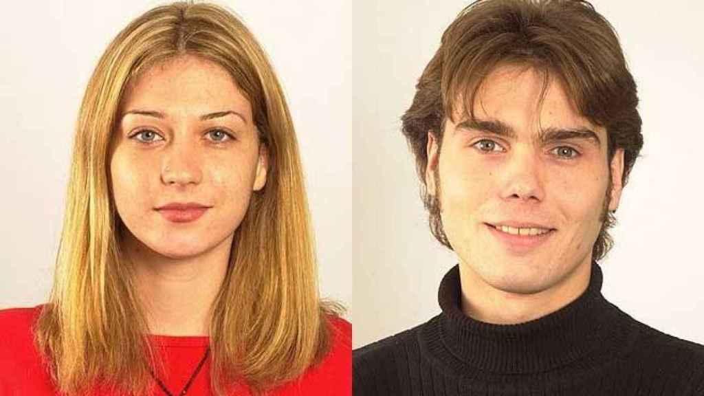 Fayna y Carlos, cuando entraron en 'Gran Hermano'.