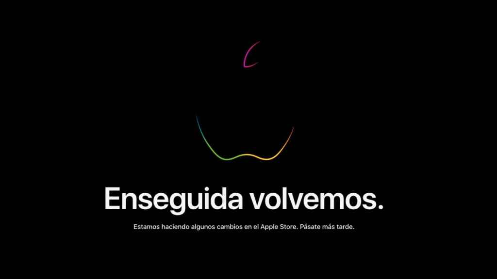 Tienda Apple cerrada