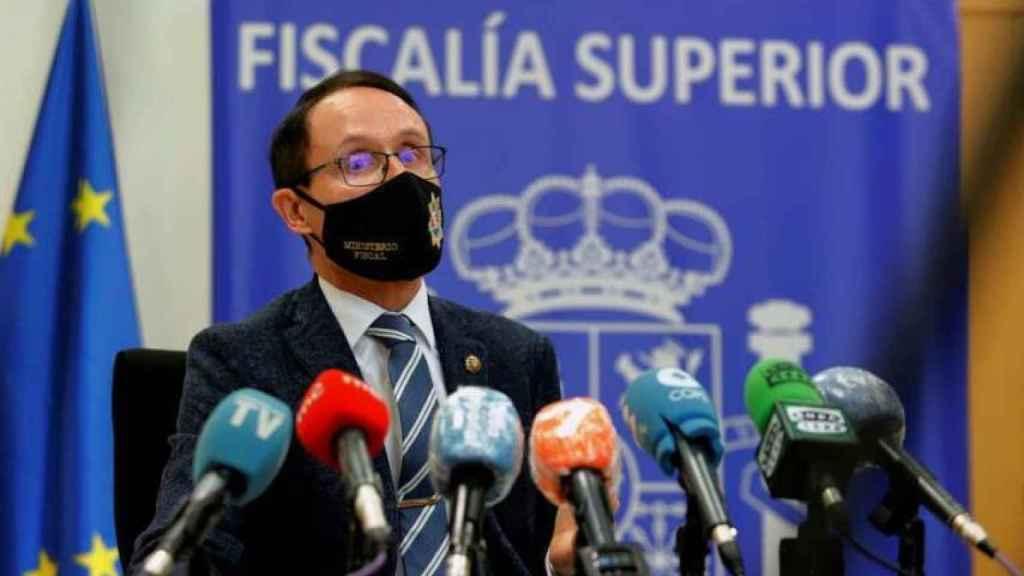 El fiscal Superior de Murcia, José Luis Díaz Manzanera.