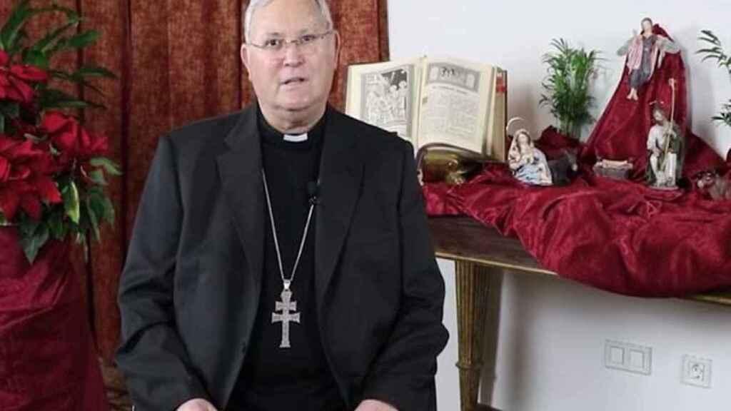 El obispo de Cartagena José Manuel Lorca Planes.