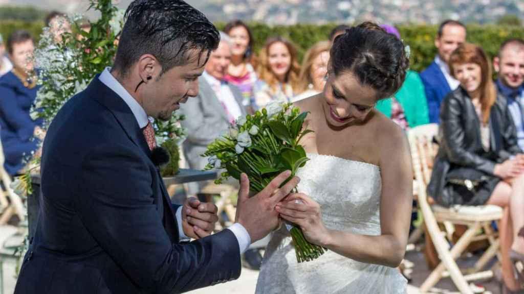 Carlos Maldonado protagonizó la primera boda de la historia de 'MasterChef'.