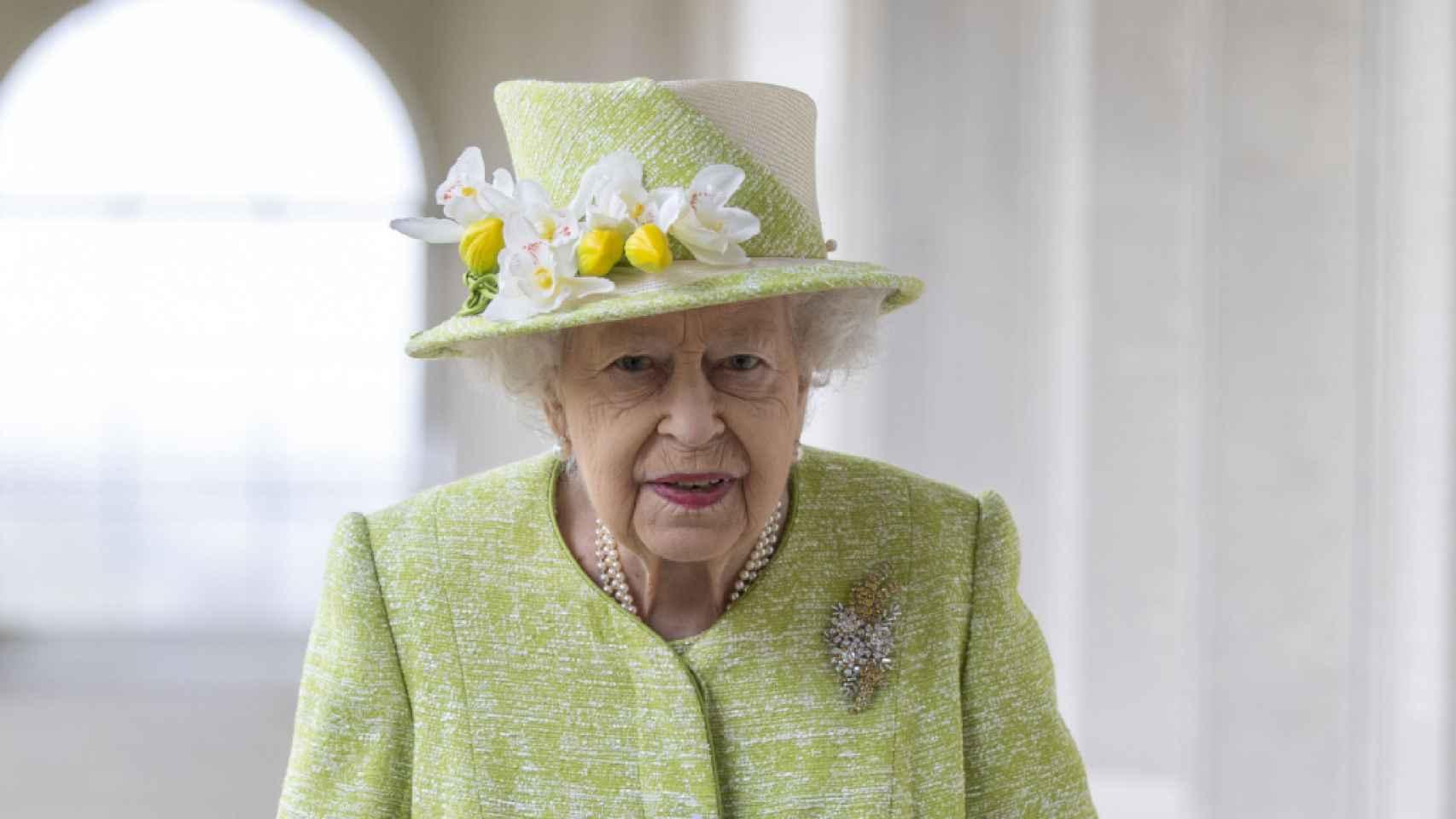 La reina Isabel, durante un acto en Gran Bretaña.