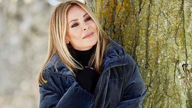 Ana García Obregón en una imagen de sus redes sociales.