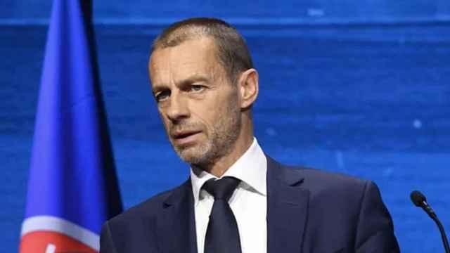 Ceferin, en el Congreso de la UEFA