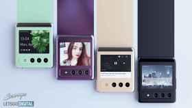 Estas imágenes nos hacen soñar con el próximo plegable de Samsung