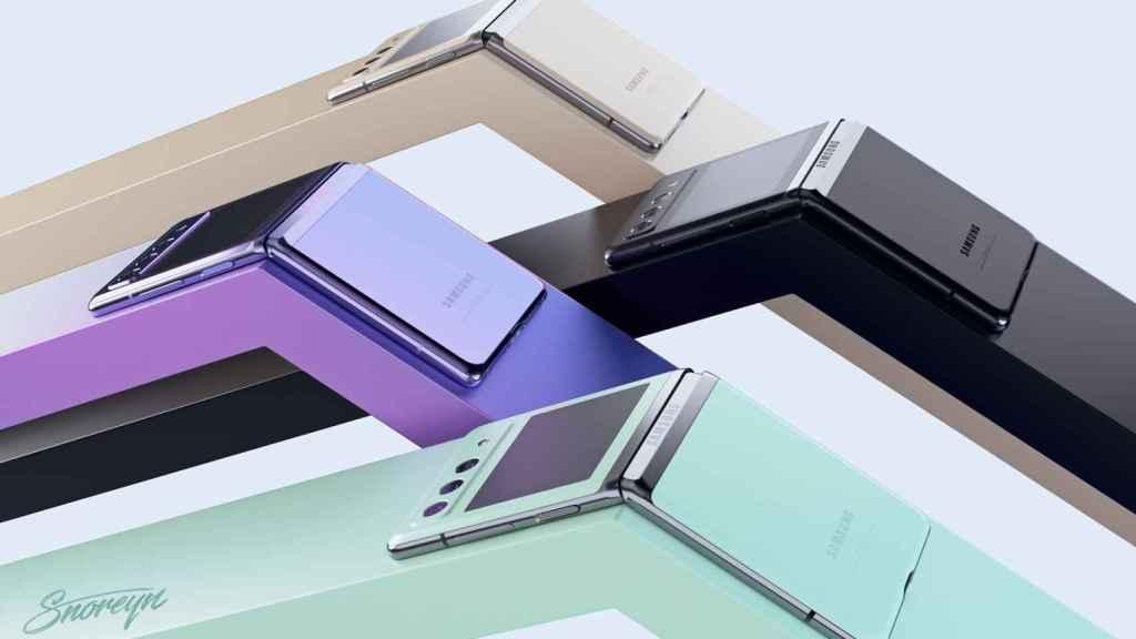 Samsung Galaxy Z Flip 3 colores