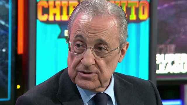 Florentino Pérez, en El Chiringuito de MEGA