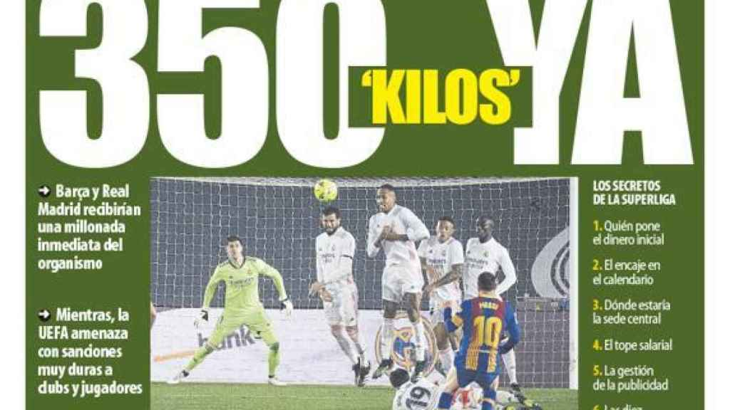 Portada Mundo Deportivo (20/04/21)