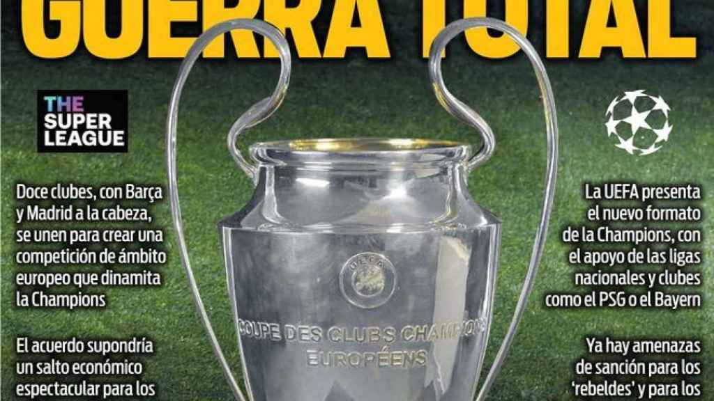 Portada Sport (20/04/21)