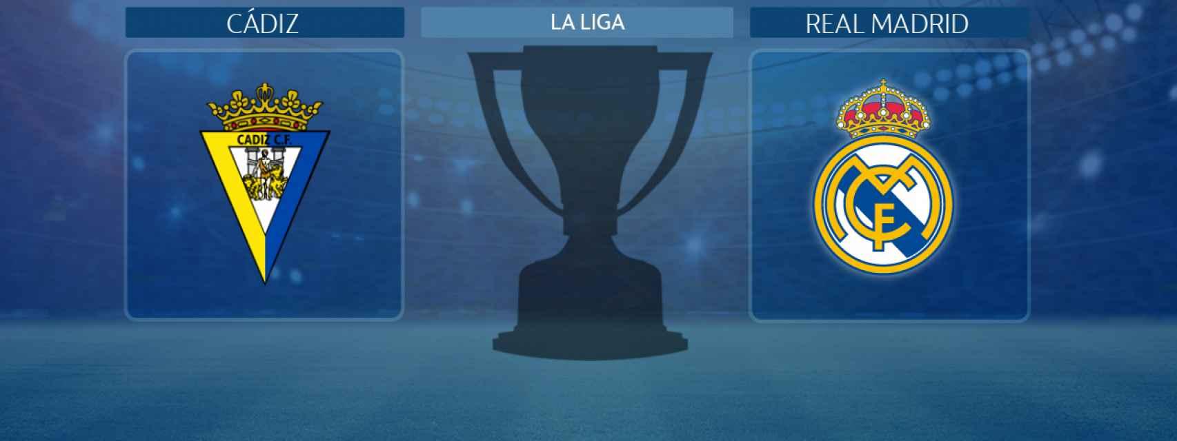 Cádiz - Real Madrid, partido de La Liga