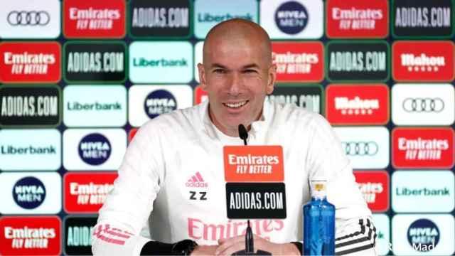 En directo | Zidane analiza en rueda de prensa el partido contra el Cádiz