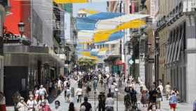 Calle Preciados de Madrid. EP