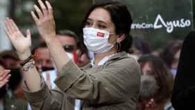 La presidenta madrileña y candidata del PP a las elecciones autonómicas, Isabel Díaz Ayuso.