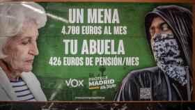 Cartel electoral difundido por Vox.