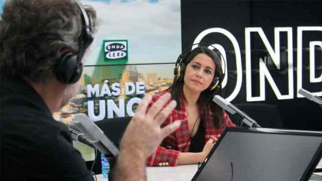 Inés Arrimadas, presidenta de Ciudadanos, entrevistada en Onda Cero.