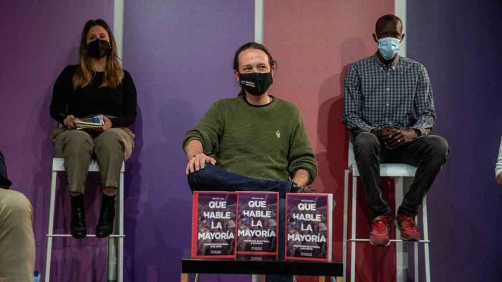 Pablo Iglesias presenta un programa para sacar de la desobediencia constitucional a Madrid.