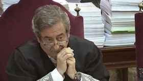 Javier Zaragoza, durante el juicio al 'procés' en el Tribunal Supremo./