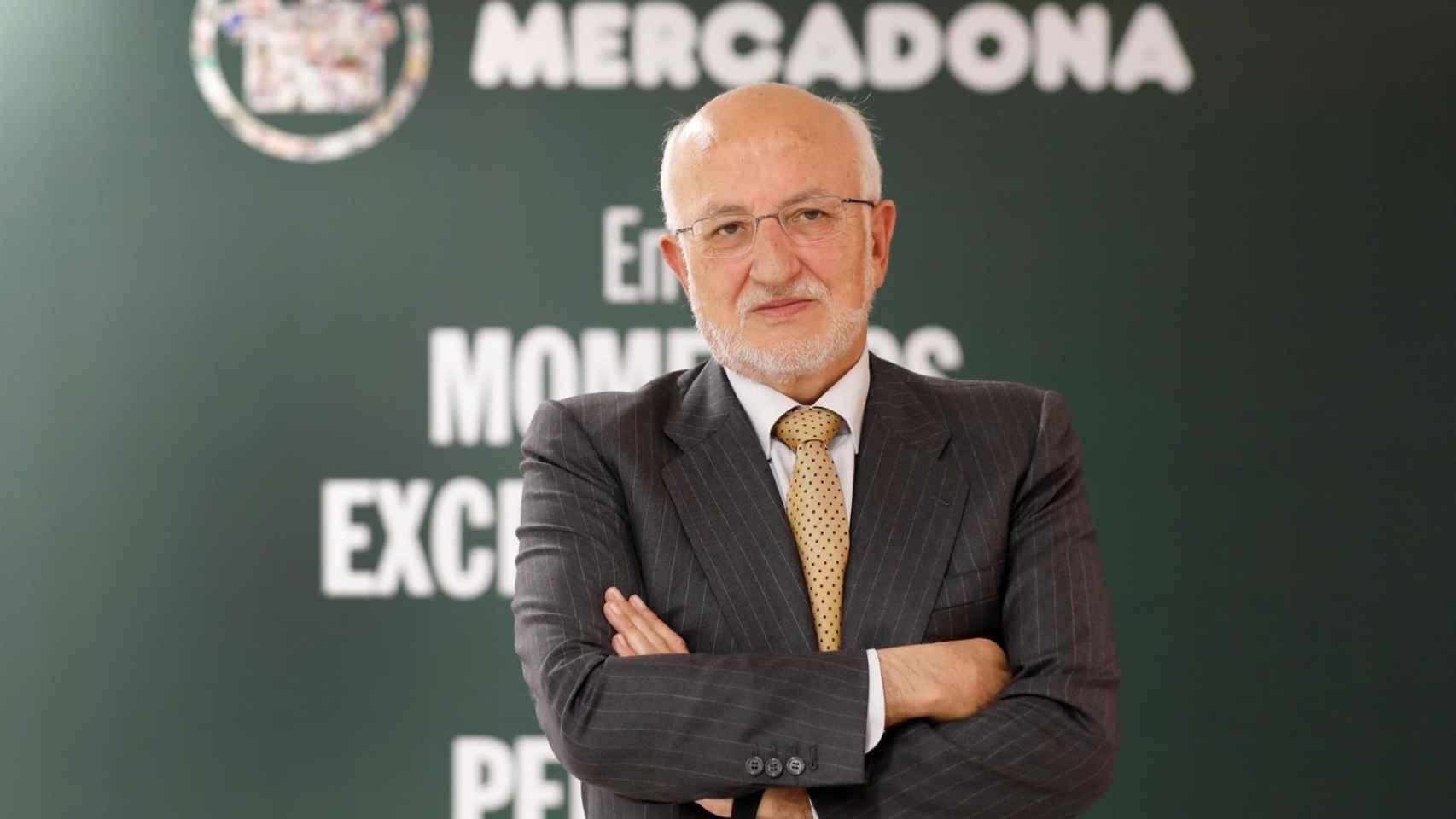 Juan Roig, presidente de Mercadona. EFE