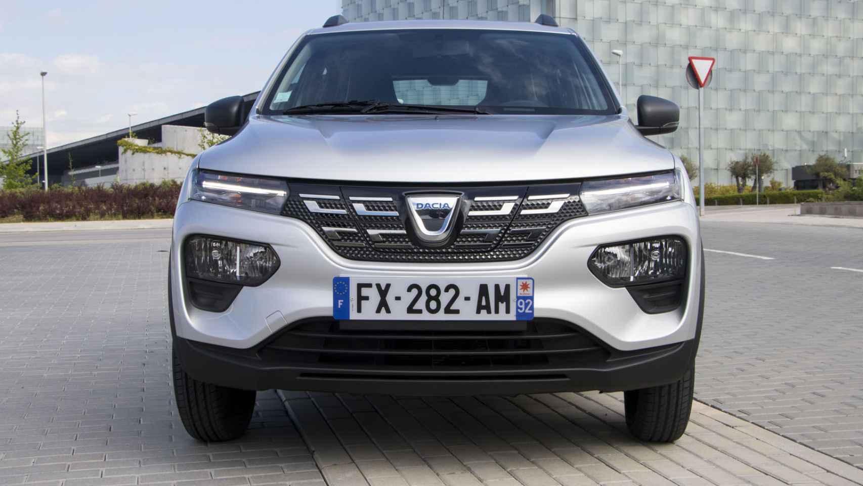 Dacia Spring: Todas las fotos del coche eléctrico más barato del mercado
