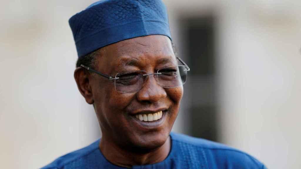 Idriss Déby, el fallecido presidente del Chad.