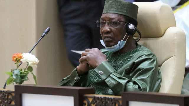 El ex presidente de Chada, Idriss Deby.