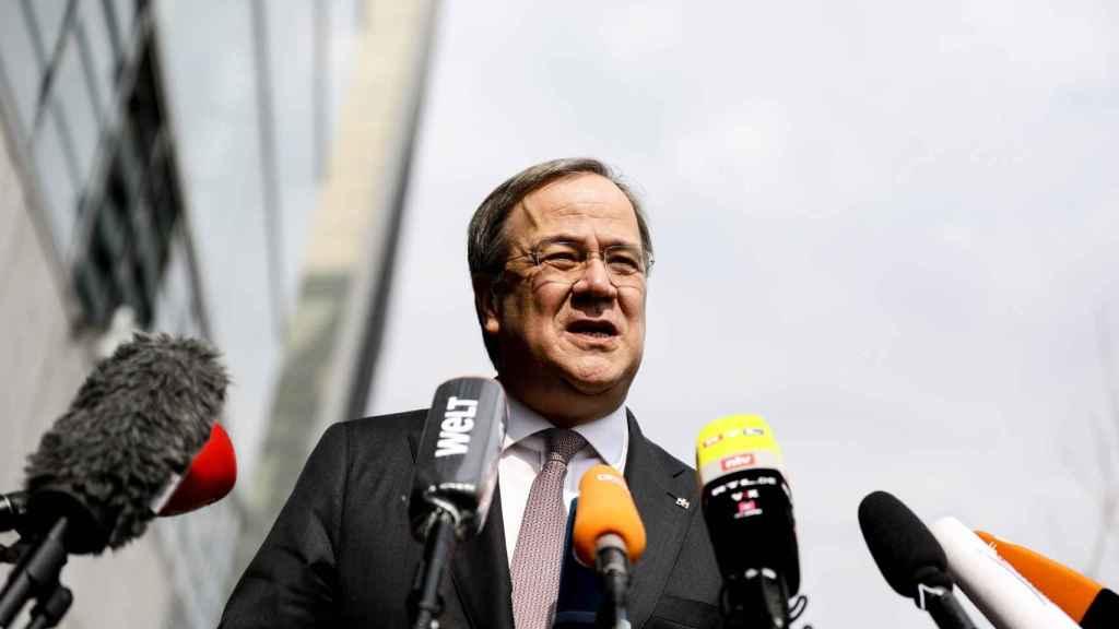 Armin Laschet, candidato de la CDU.