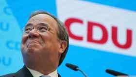 El candidato del bloque conservador para las elecciones generales de Alemania, Armin Laschet.