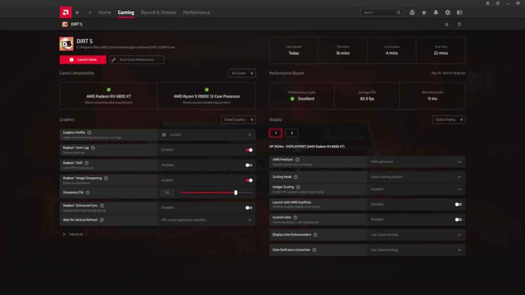 Nuevos drivers AMD Adrenalin