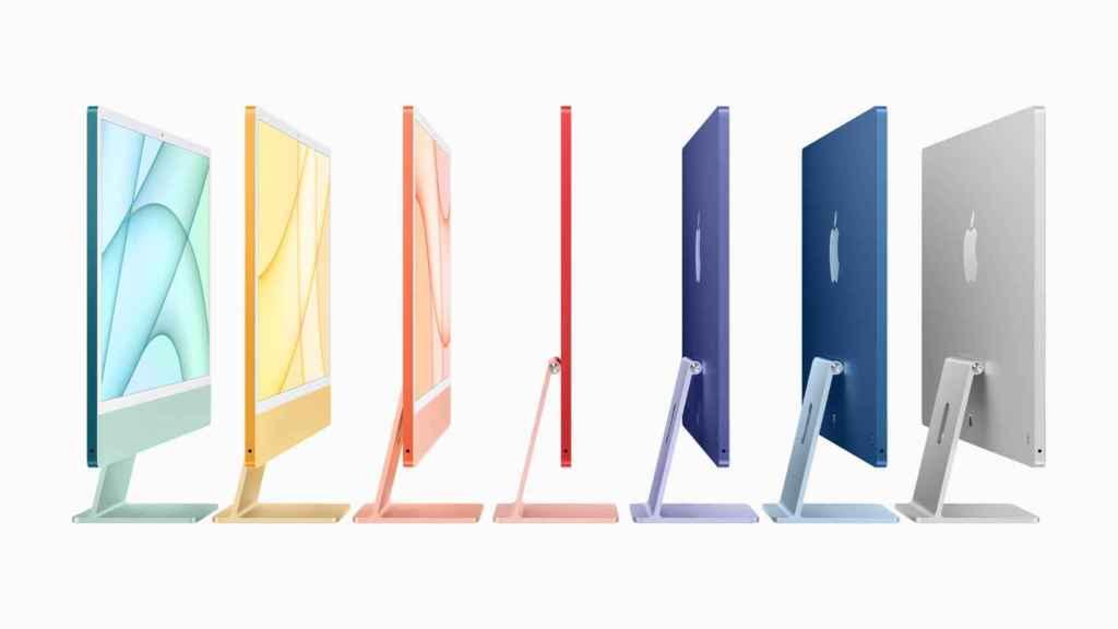El nuevo iMac está disponible en toda una gama de colores