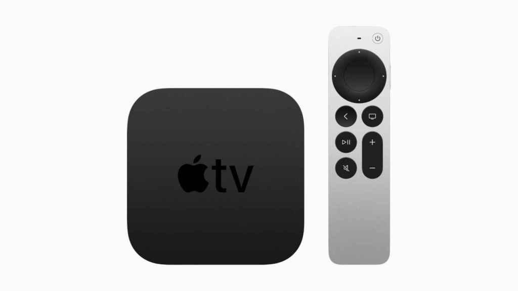 Nuevo Apple TV con su nuevo mando