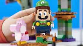 El set de Luigi para Lego Super Mario es oficial.