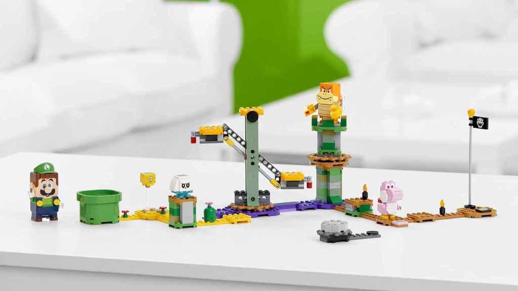 Así es el set de Luigi al completo.