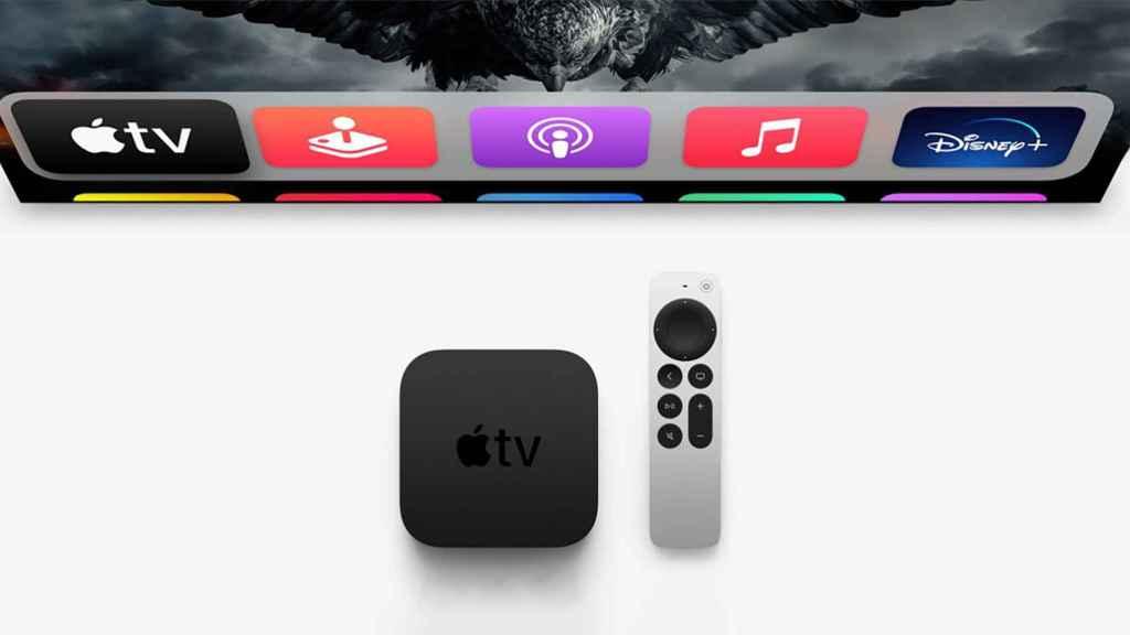 Nuevo Apple TV 4K.