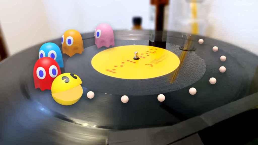 El buscador de Google permite ver a Pac-Man en realidad aumentada.