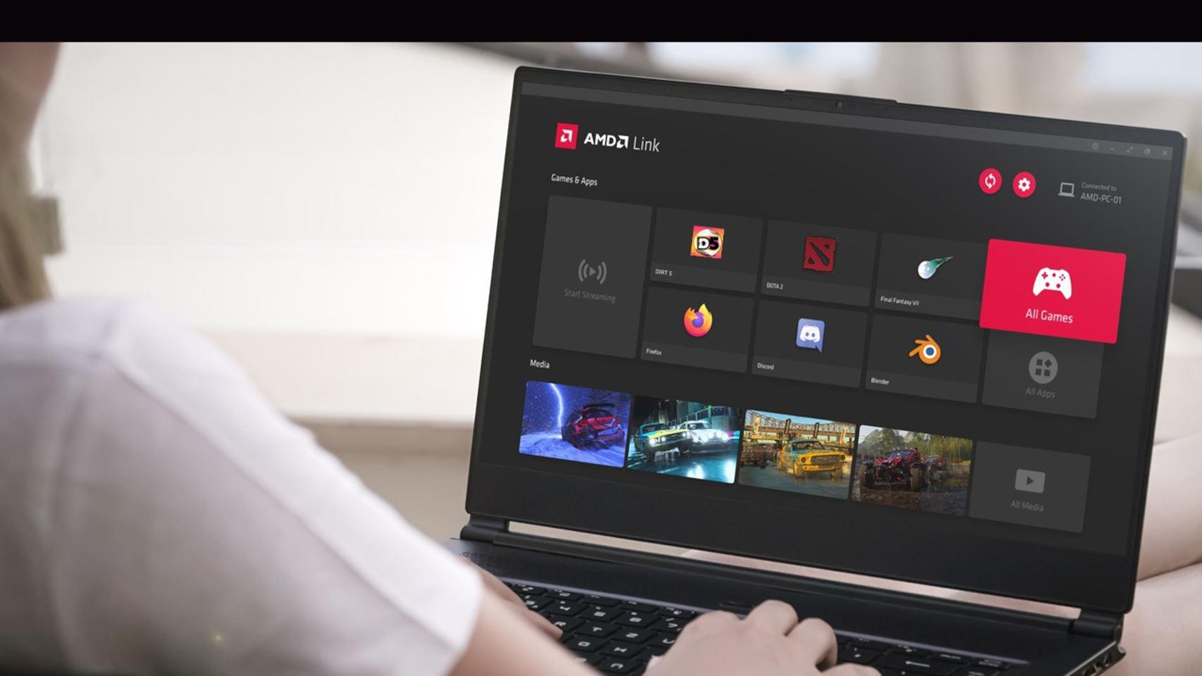 La nueva app de AMD Link es una de las novedades de los nuevos drivers Radeon