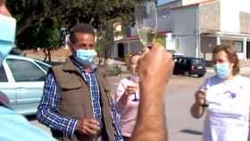Rufino, en un momento de la entrevista con Canal Extremadura.