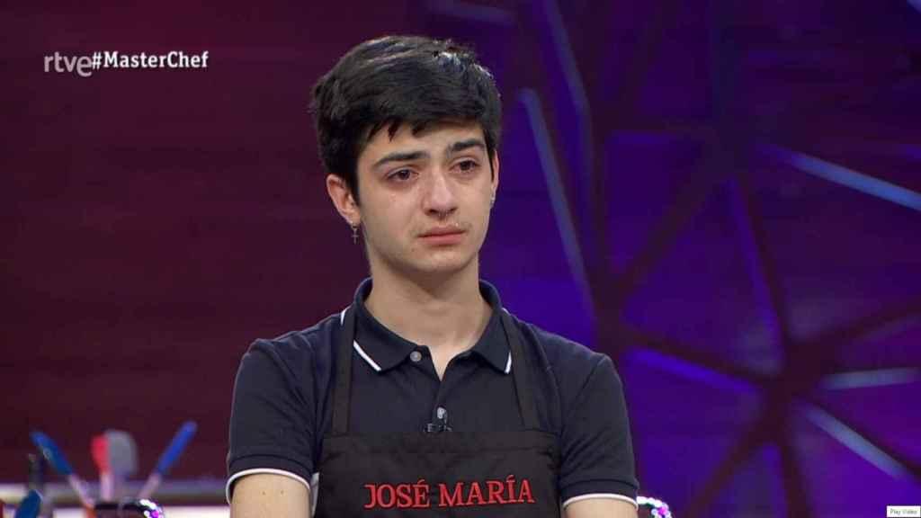 'MasterChef': José María se convierte en el segundo expulsado de la edición