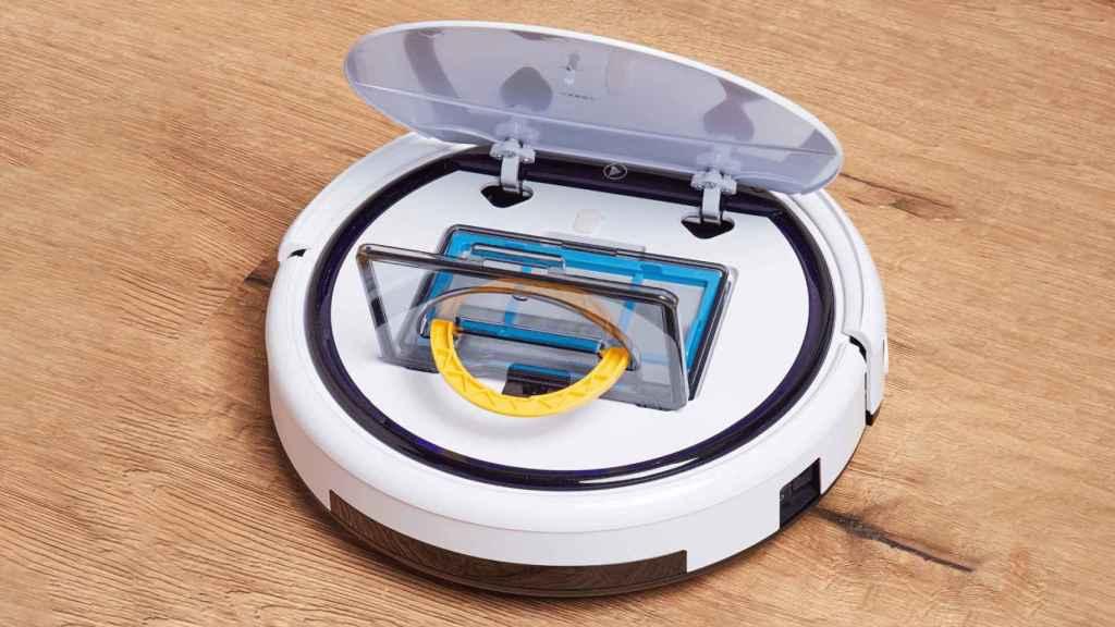 El robot aspirador de Aldi