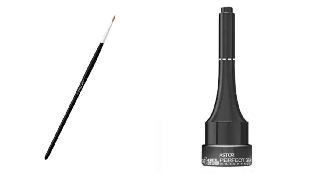 To recreate them it is important to use a fine brush and a long-lasting gel eyeliner.