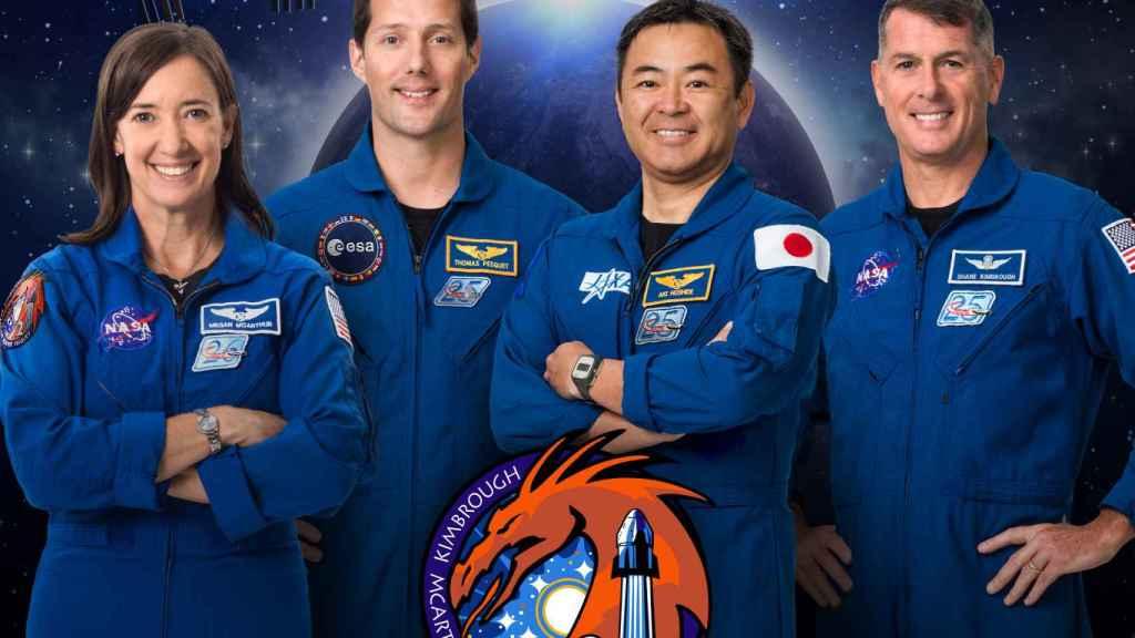 Tripulación de la misión Crew-2