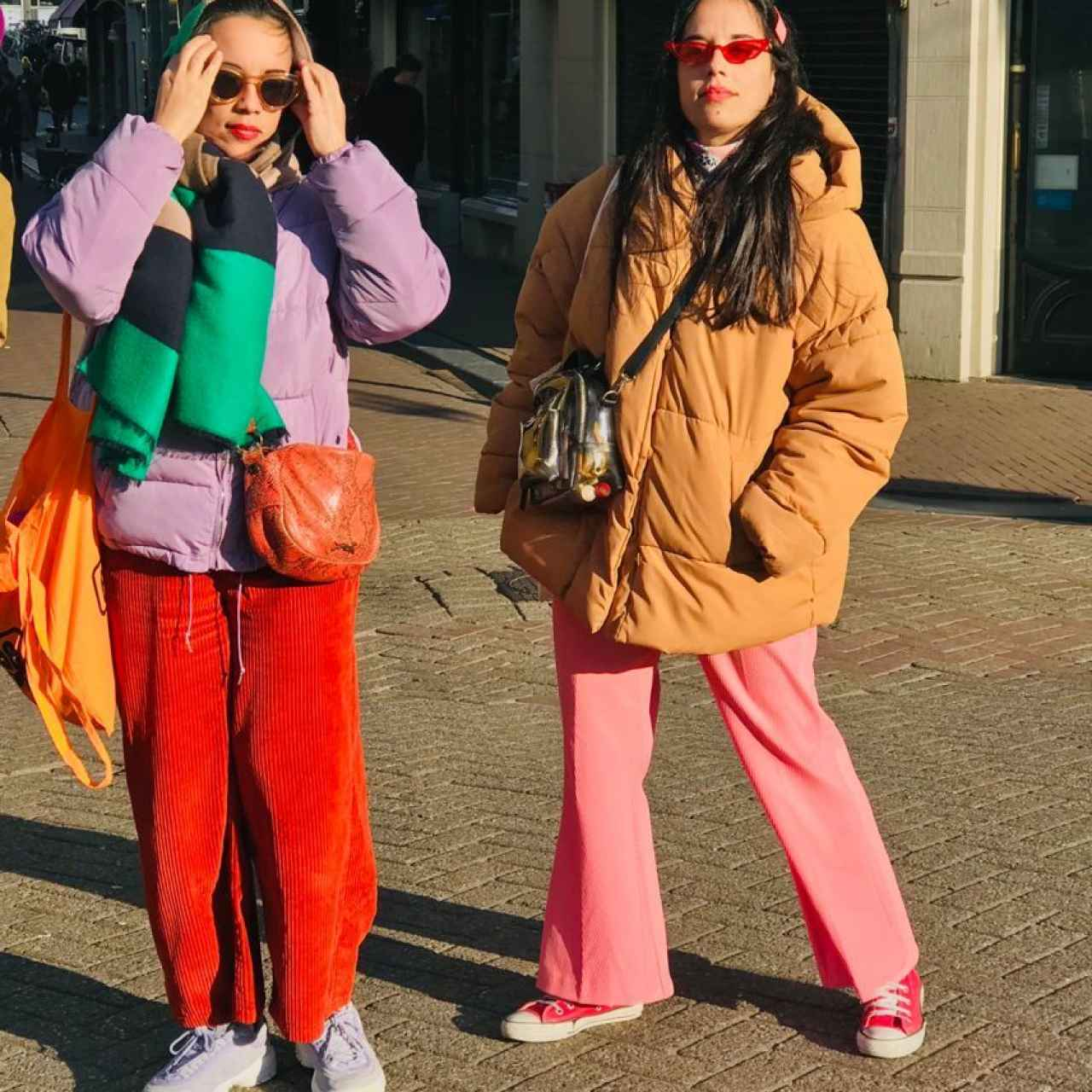 The Torrent sisters with the second-hand clothing style that led them to launch the brand.